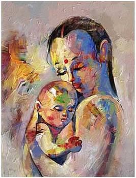 Mother-Child by Milind Shimpi