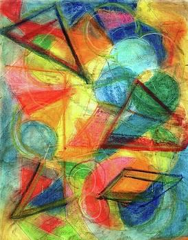 Pastel #1 by Kathy Othon
