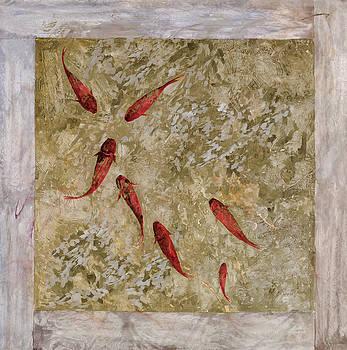 Guido Borelli - 7 pesci rossi e oro