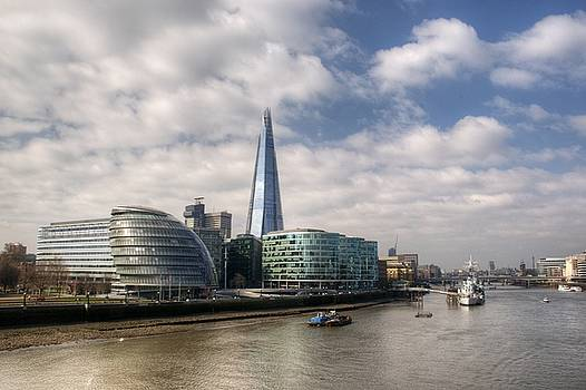 Southwark Skyline by Chris Day