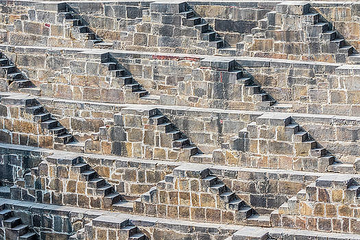 Steps at Chand Baori by Nila Newsom