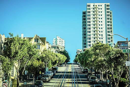 Street Views And Scenes Around San Francisco California by Alex Grichenko