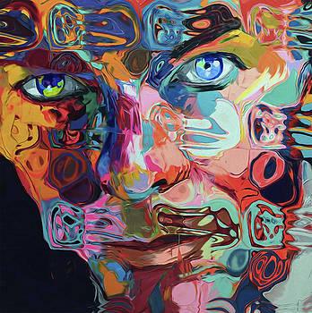 74 David Bowie by Nixo by Nicholas Nixo
