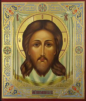 Jesus Christ Christian Art by Carol Jackson