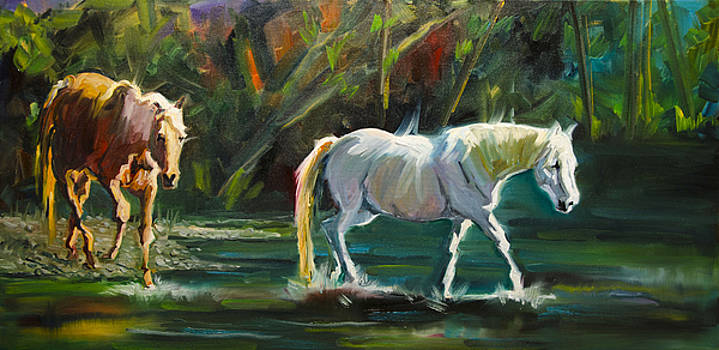 7D Horse River by Diane Whitehead