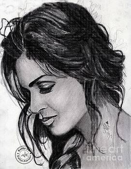 Deepika padukone by Bobby Dar