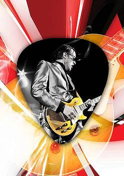 Joe Bonamassa Blues Guitarist Art by Marvin Blaine