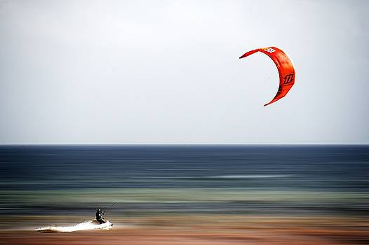 Kite Surfer by Chris Day