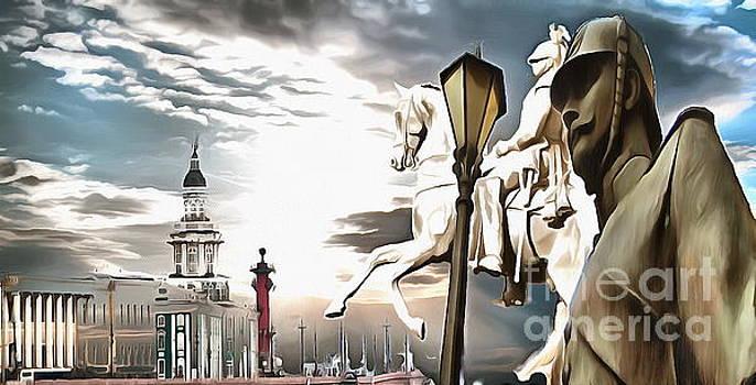My City Peterburg by Yury Bashkin