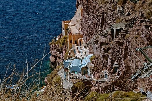 Santorini Greece by Cendrine Marrouat
