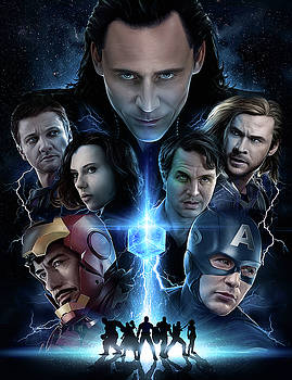 The Avengers 2012 by Unknown