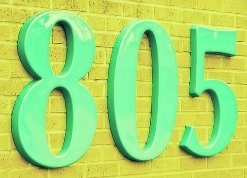 805 Emerald Green on Yellow Brick by Tony Grider
