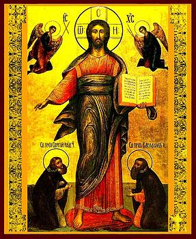 Jesus Christ Lord Savior by Carol Jackson