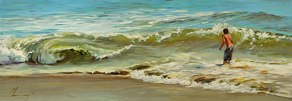 849 A Day at the Beach by Chuck Larivey