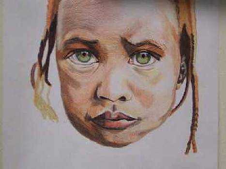 Girl in Sudan by Sherri Ward