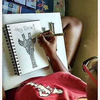 #8 hey Dear! 💓 #art #doodle #dear by Neha Mulherkar