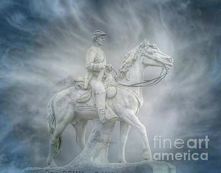 8th Pennsylvania Cavalry Regiment Gettysburg by Randy Steele