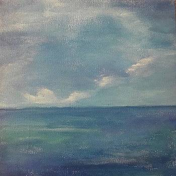 8x8 Acrylic On Canvas by Christine Sidhom Smart