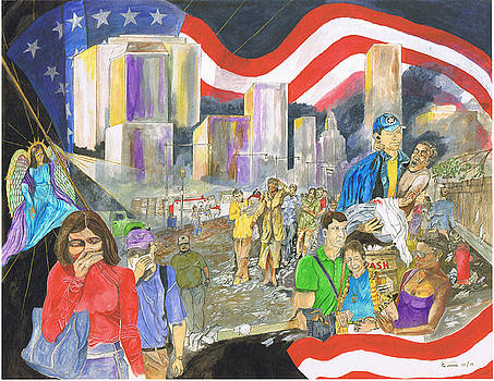 9-11-3 Guided to safety by Everna Taylor