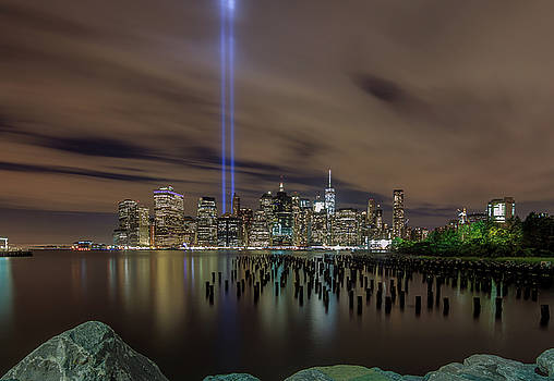 9/11 Tribute Lights 2016 by Anthony Fields