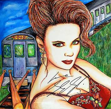 9 2 5 Train by Joseph Lawrence Vasile