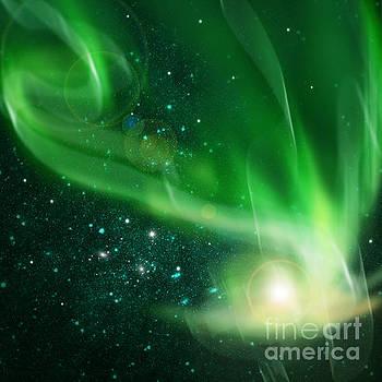 Aurora Borealis by Setsiri Silapasuwanchai