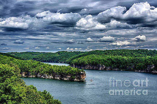 Long Point Summersville Lake by Thomas R Fletcher