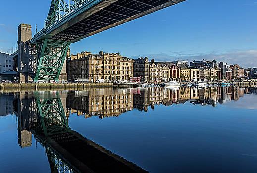 Newcastle Quayside by David Pringle