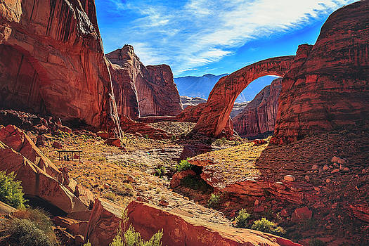 Rainbow Bridge Monument by Peter Lakomy