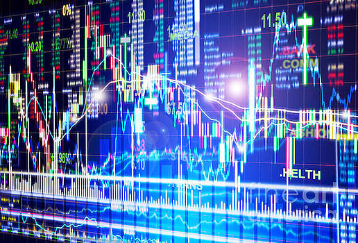 Stock Market Concept by Setsiri Silapasuwanchai