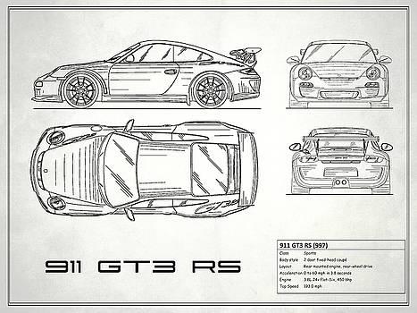 Mark Rogan Artwork Collection: Car Blueprint Collection