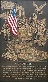 911 Memorial Plaque Dixon Illinois by Ericamaxine Price