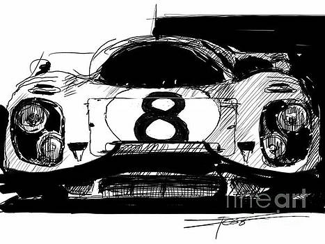 917 Black And White by Peter Fogg