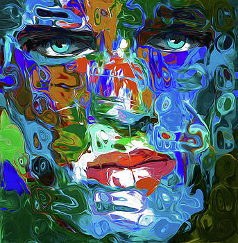 93 Abstract Face by Nixo by Nicholas Nixo