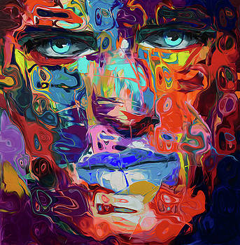 95 Abstract Face by Nixo by Nicholas Nixo