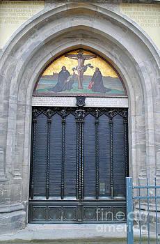 Jost Houk - 95 Theses Door