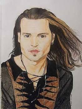 Johnny Depp by Sherri Ward
