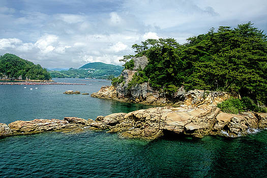 99 Islands Sasebo Japan by Judi Saunders