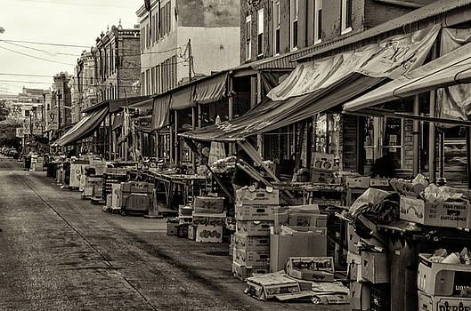 9th Street Italian Market - Philadelphia Pennsylvania by Bill Cannon
