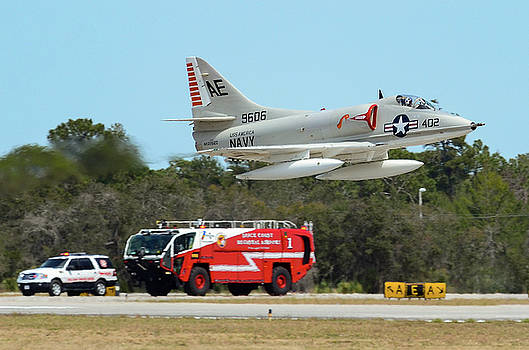 A-4 / Firetruck by David Hart