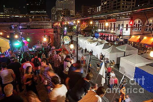 Herronstock Prints - A 6th Street rooftop bar is a perfect perch from where to enjoy the famous famous rooftop lounges