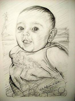 A Baby Smile by Wale Adeoye