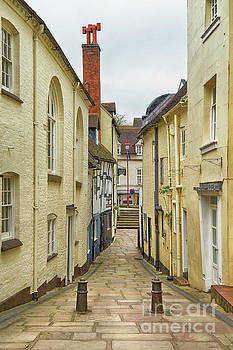 A Backstreet in Bridgnorth by Linsey Williams