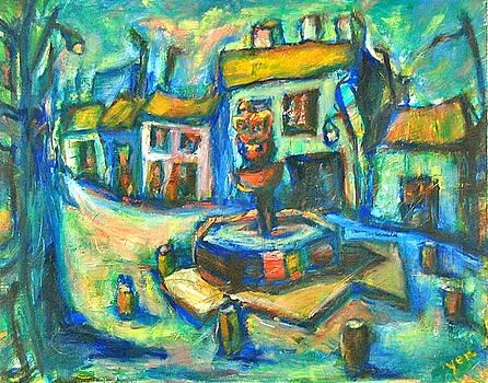 A Backstreet in Cordoba by Yen