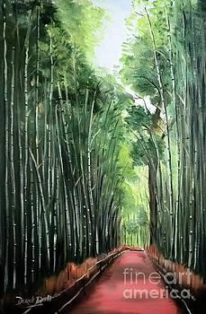 Derek Rutt - A Bamboo Forest In Japan