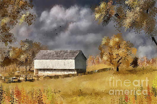 Lois Bryan - A Barn At The Poffenberger Farm