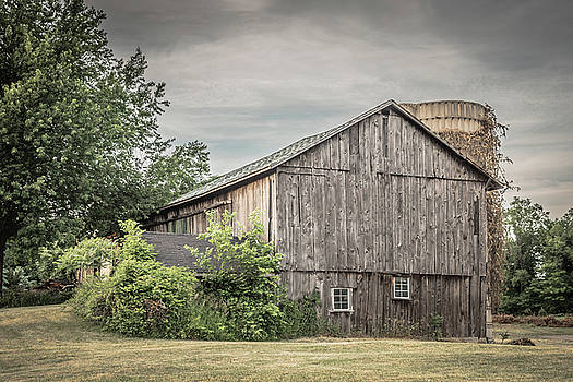 A Barn In Cowlesville by Guy Whiteley