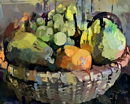 A Basket of Fruit by Don Berg