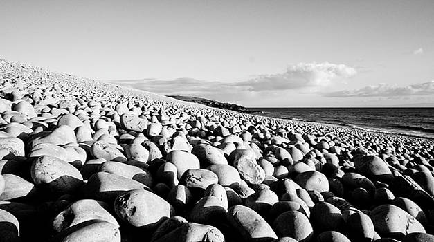 A Beach of Stones by Trance Blackman
