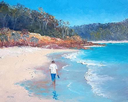 Jan Matson - A beach stroll